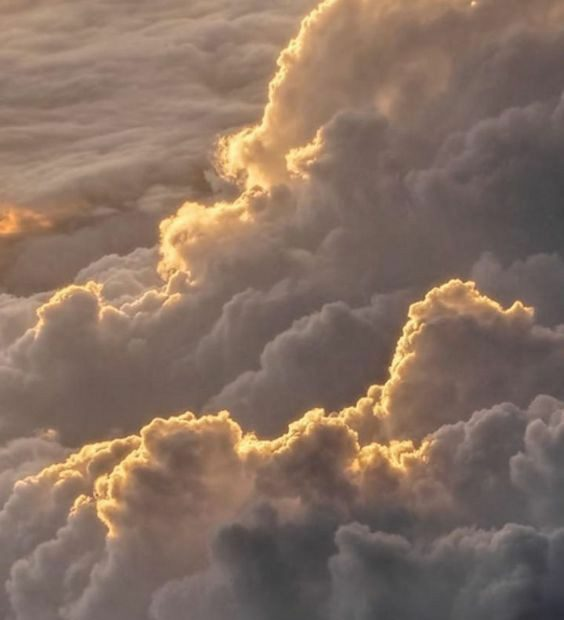 Crowded clouds